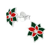 Holly - 925 Sterling Silver Stud Earrings with CZ SD40391