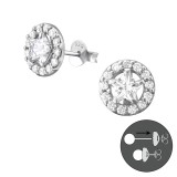 Star - 925 Sterling Silver Ear Jackets & Double Earrings SD37763