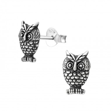 Owl - 925 Sterling Silver S...