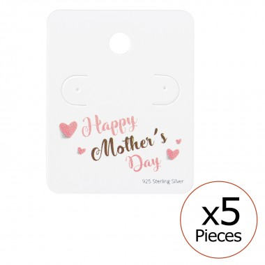 Happy Mother's Day Ear Stud...