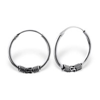 16mm Bali - 925 Sterling Si...