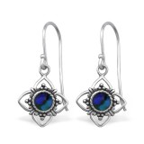 Flower - 925 Sterling Silver Simple Earrings SD30833