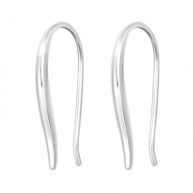 Curved - 925 Sterling Silve...