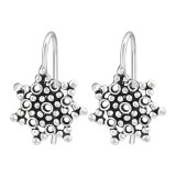 Bubbles - 925 Sterling Silver Simple Earrings SD39119