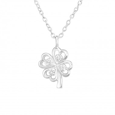 Lucky Clover - 925 Sterling...