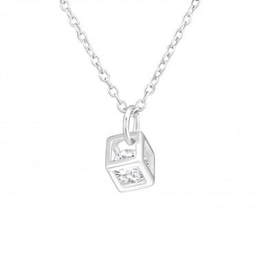 Cube - 925 Sterling Silver ...