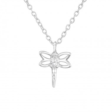 Dragonfly - 925 Sterling Si...