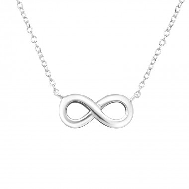 Infinity - 925 Sterling Silver Silver Necklaces SD16923