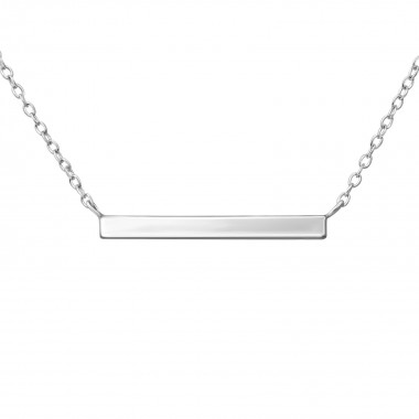 Bar - 925 Sterling Silver S...