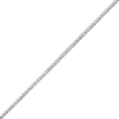 Silver Wheat Necklace Chain...
