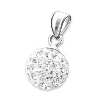 Ball - 925 Sterling Silver Pendants with CZ SD3640