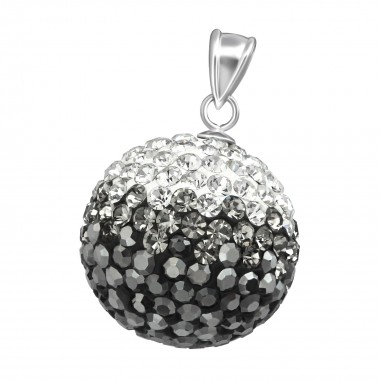 Crystal Ball - 925 Sterling...