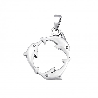 Dolphin - 925 Sterling Silv...