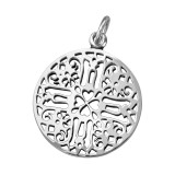 Antique - 925 Sterling Silver Simple Pendants SD39096