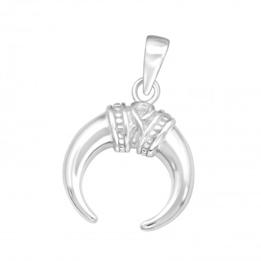 Ivory - 925 Sterling Silver Simple Pendants SD40925