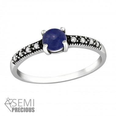 Solitaire - 925 Sterling Silver Rings with CZ SD36420