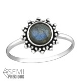 Flower - 925 Sterling Silver Rings with CZ SD37296