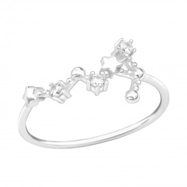 August-Virgo - 925 Sterling Silver Rings with CZ SD39351