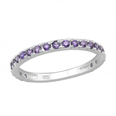 Sprinkled - 925 Sterling Silver Rings with CZ SD4117