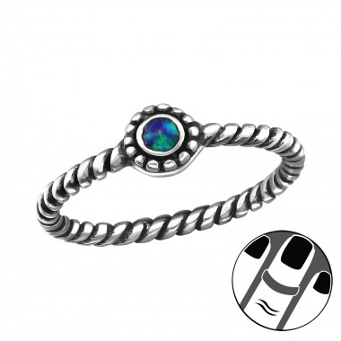 Oxidized - 925 Sterling Sil...