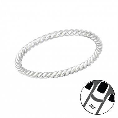 Rope - 925 Sterling Silver ...