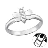 Bee - 925 Sterling Silver Midi Rings SD39830