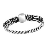 Bali - 925 Sterling Silver Simple Rings SD37860