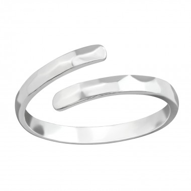 Open - 925 Sterling Silver Simple Rings SD38366