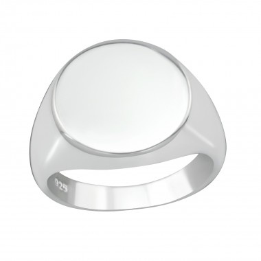 Round - 925 Sterling Silver Simple Rings SD38661