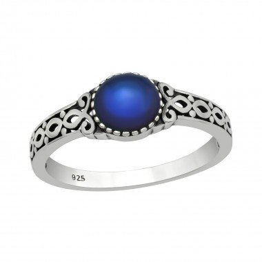 Braided - 925 Sterling Silver Simple Rings SD40754