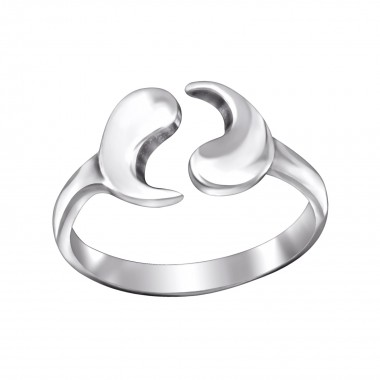 Yin Yang - 925 Sterling Silver Toe Rings SD29427