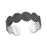 Patterned - 925 Sterling Silver Toe Rings SD37884