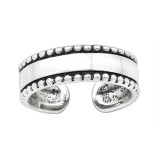 Oxidized - 925 Sterling Silver Toe Rings SD39863