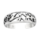 Antique - 925 Sterling Silver Toe Rings SD41588
