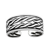 Rope - 925 Sterling Silver Toe Rings SD41675