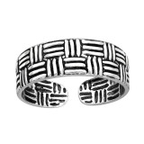 Rattan - 925 Sterling Silver Toe Rings SD41683