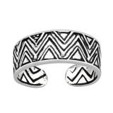 Zigzag - 925 Sterling Silver Toe Rings SD41684