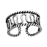 Wave - 925 Sterling Silver Toe Rings SD42230