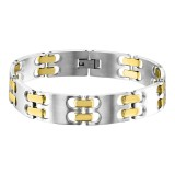 Bangle - 316L Surgical Grade Stainless Steel Men Steel Bracelet SD10897