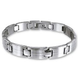 Handcuff - 316L Surgical Grade Stainless Steel Men Steel Bracelet SD11633