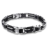 Links - 316L Surgical Grade Stainless Steel Men Steel Bracelet SD17027