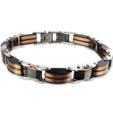 Bangle - 316L Surgical Grade Stainless Steel Men Steel Bracelet SD17079