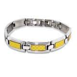 Tagged - 316L Surgical Grade Stainless Steel Men Steel Bracelet SD1877