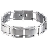 Tagged - 316L Surgical Grade Stainless Steel Men Steel Bracelet SD1900