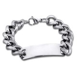 Chain - 316L Surgical Grade Stainless Steel Men Steel Bracelet SD20900
