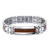 Plain - 316L Surgical Grade Stainless Steel Men Steel Bracelet SD24085