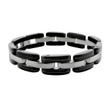 Cuff bangle - 316L Surgical Grade Stainless Steel Men Steel Bracelet SD7705