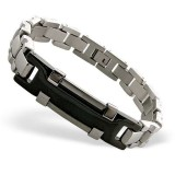 Handcuff - 316L Surgical Grade Stainless Steel Men Steel Bracelet SD8079