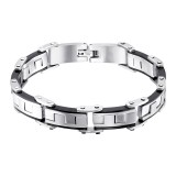 Handcuff - 316L Surgical Grade Stainless Steel Men Steel Bracelet SD9802