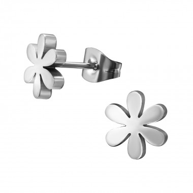 Flower - 316L Surgical Grade Stainless Steel Stainless Steel Ear studs SD1263